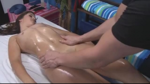Sexy hot lesbian rump fucked by masseur