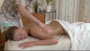Blonde milf needs blowjobs because she needs a relaxing massage, every once in a while