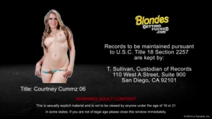 Spinnin blonde Courtney Cummz needs fat dick to masturbate to orgasm and then suck cock like a slut
