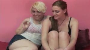 Lesbo gals pleasuring blacks with cocks